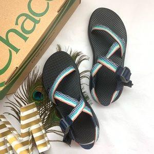 *LIKE NEW Chacos - Rainbow Adjustable Sandals*